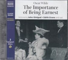 The Importance of Being Earnest Oscar Wilde 2CD Audio Cast Play Drama Gielgud