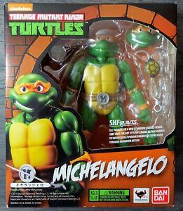 Teenage Mutant Ninja Turtles (S.H. Figuarts) MICHELANGELO - USA Seller AUTHENTIC