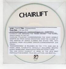 (GH270) Chairlift, Amanaemonesia - 2012 DJ CD