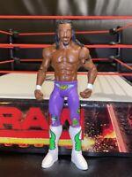 Kofi Kingston WWE Wrestler Wrestling Action Figure Mattel Basic Series NEW DAY