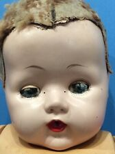 Creepy Spooky Scary Disfigured Vintage American Character Tiny Tears Doll 18�
