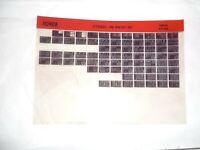 Honda XR600R 93-94     Microfiche Motorrad Original Ersatzteilekatalog