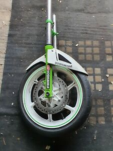 Honda Cbr600 F2 Front Forks And Wheel Complete Front End