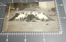 Man Women LAYING DOWN Shoe Soles FEET TO CAMERA Sleeping Vintage Snapshot PHOTO