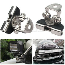 Mounting Brackets Universal HoodLed Work light Bars Clamp Holder For Jeep Truck