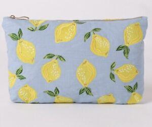 Elizabeth Scarlett Lemon Pouch