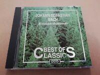 JOHANN SEBASTIAN BACH * BEST OF CLASSICS * CD ALBUM EXCELLENT 1991