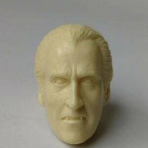 "Blank Hot 1/6 Scale The Vampire Dracula Head Sculpt Unpainted Fit 12"" Figure"