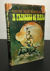 A Princess of Mars by Edgar Rice Burroughs Hardcover 1970 Book Club Edition