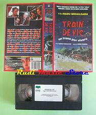 VHS film TRAIN DE VIE Radu Mihaileanu Moni Ovadia Goran Bregovic*CVC(F122)no*dvd