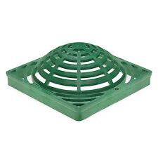 """FSD-120-A Replacement 12"""" Square Catch Basin Atrium Grate (Green)"""