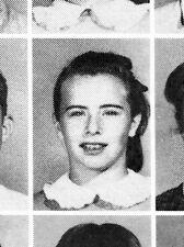 BILLIE JEAN KING 1957 Hughes Junior High School Yearbook LONG BEACH, CA