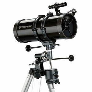 Telescopio astronómico Celestron PowerSeeker 127 EQ C21049