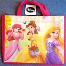 New Disney REUSABLE Princesses TOTE GIFT BAG Ariel Belle Rapunzel