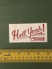 mountain khakis Decal/sticker Outdoors