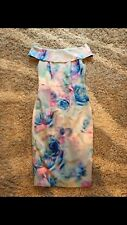 V by Very Bardot Bodycon Dress Size 8 Brand New With Tags Stunning Floral Print