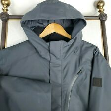 NWT UNDER ARMOUR Size 2XL 700 Fill Duck Down Hooded Mens Black Winter Coat Parka