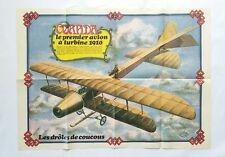 BD - Supplement Spirou n° 2085 Poster Coanda 1910 Le 1er avion à turbine/ DEVOS