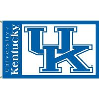 NCAA Licensed Kentucky UK Wildcats 3' x 5' FLAG w/Grommets Banner New