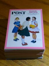 1993 Norman Rockwell Collector Cards - complete 90 Card Set