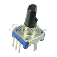 1/2/5PCS Rotary encoder with switch EC11 Audio digital potentiometer 20mm handle