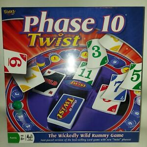 Phase 10 Twist The Wickedly Wild Rummy Game Factory Sealed