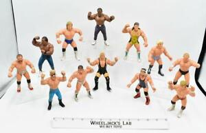 Lot of 12 Wrestling Figure WCW 1990 Galoob Vintage