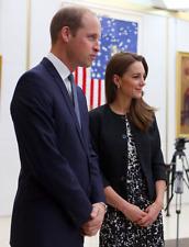 Tory Burch Dress Size  6 Sophia  Floral Print Dress Kate Middleton