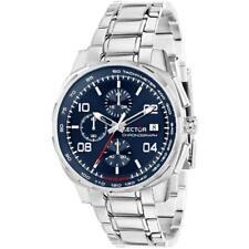 Orologio Uomo SECTOR 890 R3273803002 Chrono Bracciale Acciaio Blu Sub 100mt