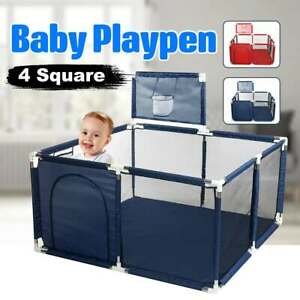 Baby Playpen Portable Plastic Fencing Folding Safety Fence Barriers Ball Pool