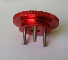 1/8 RC Nitro Flywheel Red Alloy 34mm 3 Pin