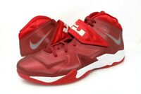 Nike Lebron James Mens 18 Zoom Soldier VII TB Basketball Shoes Red 599263-601