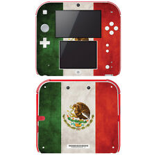 Vinyl Skin Decal Cover for Nintendo 2DS - Flag of Mexico