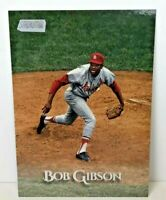 Bob Gibson 2019 Stadium Club Oversized Box Toppers #OBVBG St. Louis Cardinals