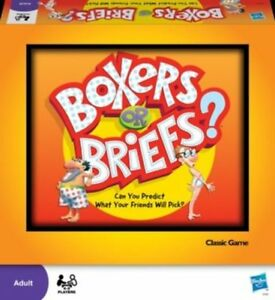Boxers or Briefs? 41116058677-CO HASBRO