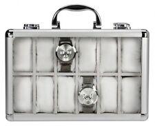 SAFE 265-2 Uhrenkoffer, innen weiß f. 12 Uhren