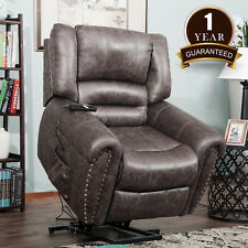 Merax Executive Racing High Back Ergonomic Leather Recliner Office Chair