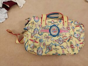 Oilily Baby Changing Bag And Mat Yellow Very Good Condition