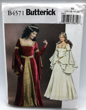 Butterick Sewing Pattern B4571 Costume Dress Size EE 14-20
