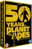 50 YEARS OF PLANET OF THE APES ((9 MOVIES) [REGION B BLURAY] NEW & SEALED