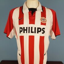 PSV Eindhoven 2002 - 2003 Home Shirt Size Large Nike Philips