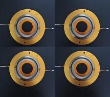 4Pcs 44.4mm Aftermarket Diaphragm for JBL 2402 2404 2405 JBL75 76 77 16Ohm