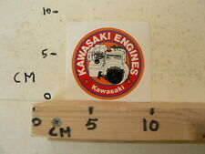 STICKER,DECAL KAWASAKI ENGINES FA210D  STATIONAIRE MOTOR ? GENERATOR ? KAWASAK A