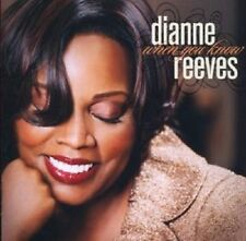 """DIANNE REEVES """"WHEN YOU KNOW"""" CD NEUWARE"""