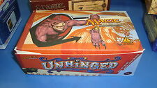 Magic the Gathering Mtg Empty Unhinged Booster box!