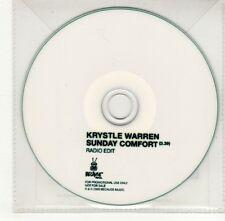 (GO378) Krystle Warren, Sunday Comfort - 2009 DJ CD