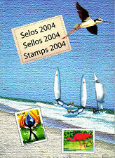 BRAZIL 2004 - ALL STAMPS ISSUED, FULL YEAR BY POSTE OFFICE, ALL MNH