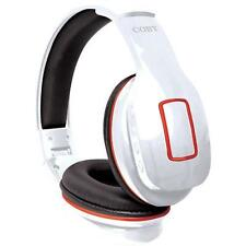 Coby CHBT-609-WHT Focus Bluetooth Over-The-Ear Headphones
