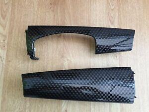 MINI F55 F56 F57 2014-ON FRONT DASH BLACK CHECKERED TRIM KIT RHD