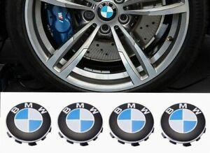x4 BMW-56mm Wheel Center Caps Emblem for BMW, Rim Center Hub Caps for All Models